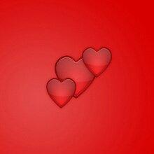 рисуем блестящие сердца в photoshop