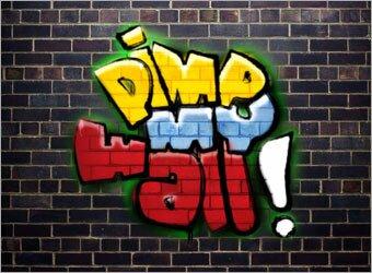 граффити в фотошопе