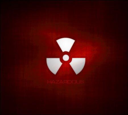 значок радационной опасности