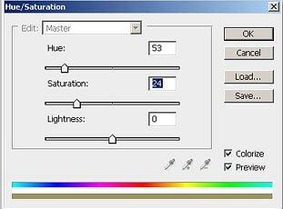 hue saturations