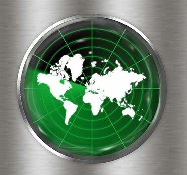 радар в фотошоп