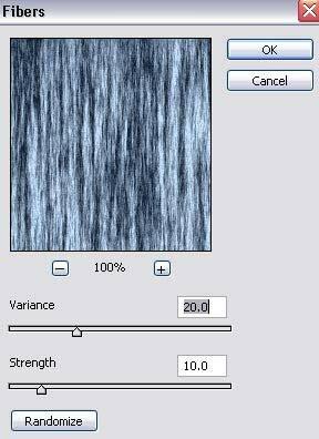 используем фильтр fibers