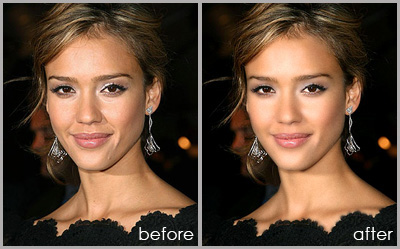 улучшаем кожу в фотошоп
