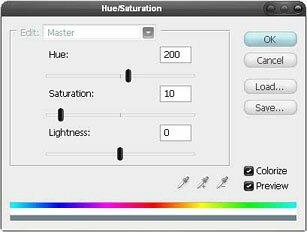 hue, saturations