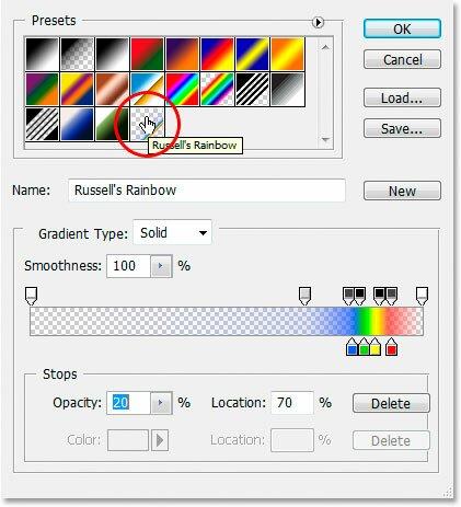 russells rainbow