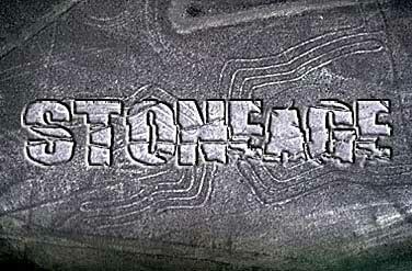 текст на камне