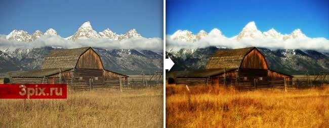 Уроки Фотошоп Как увеличить яркость фотографии и добавить рассеянное свечение