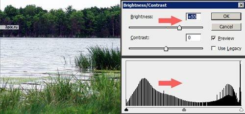 Уроки Фотошоп - Яркость и контрастность фотографий