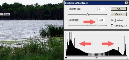 Уроки Photoshop - Яркость и контрастность фотографий
