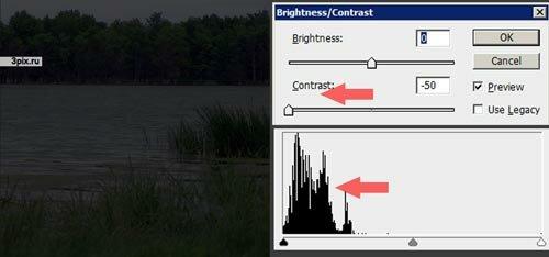Уроки Фотошоп - Яркость и контрастность фотографий - Brightness Contrast